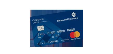Tarjeta de Crédito Mastercard Clásica