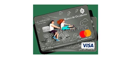 Tarjeta de Crédito Visa / Mastercard Joven