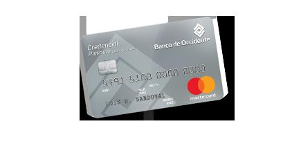 Tarjeta de Crédito Platinum Mastercard