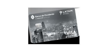 Tarjeta de Crédito Visa Platinum LATAM Pass