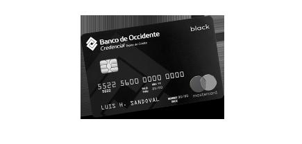Tarjeta de Crédito Black Mastercard