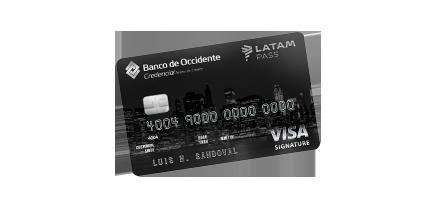 Tarjeta de Crédito Visa Signature LATAM Pass