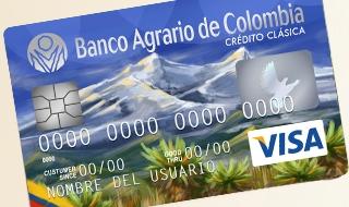Tarjeta Crédito Clásica: Banco Agrario