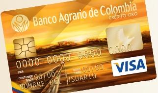 Tarjeta Gold: Banco Agrario