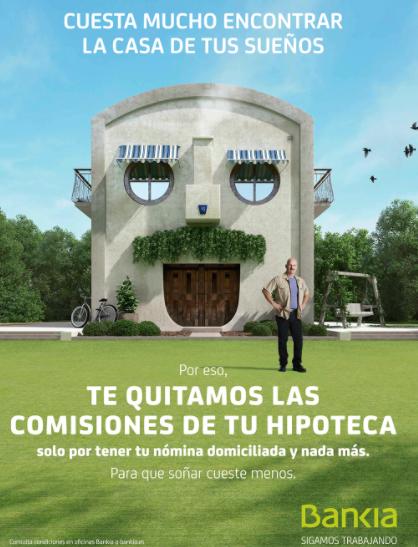 hipoteca sin comisiones bankia
