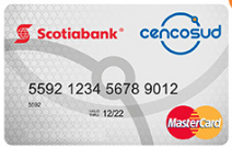 Comparativa tarjetas 2021: Scotiabank Cencosud