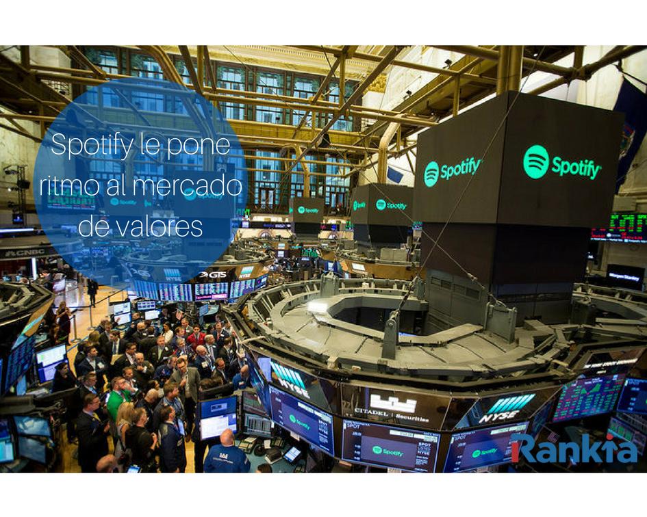 Spotify le pone ritmo al mercado de valores, Edgar Arenas