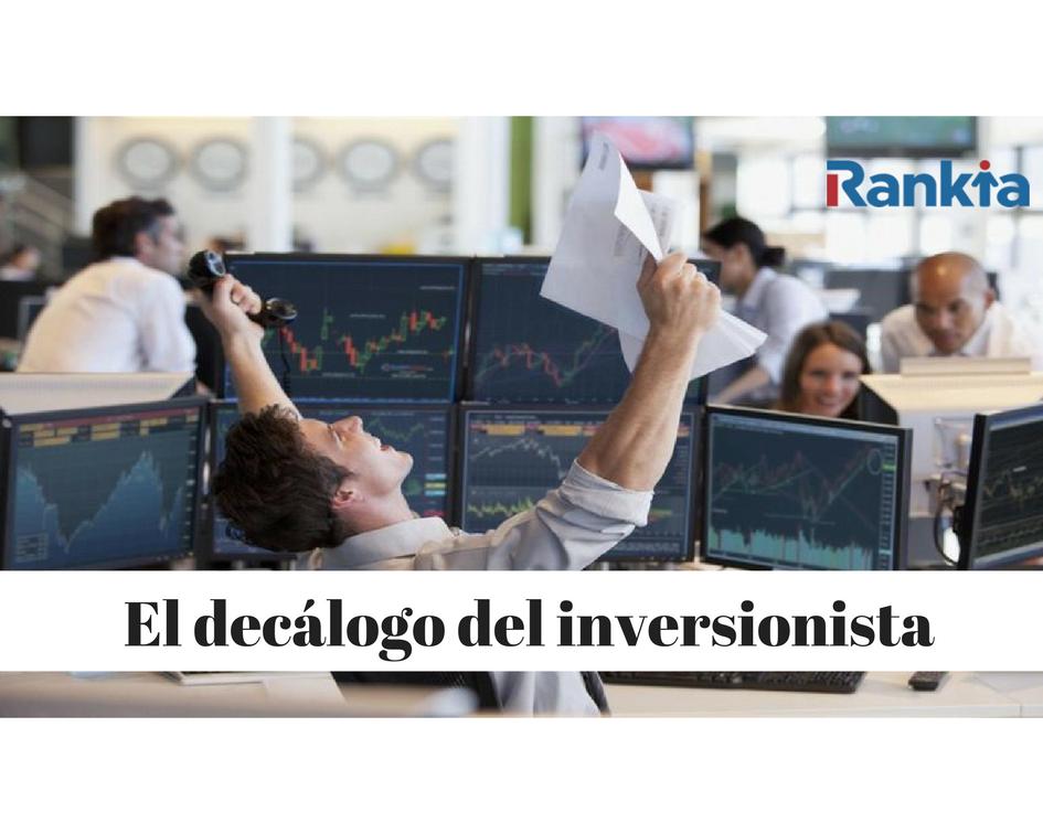 El decálogo del inversionista, Edgar Arenas, Rankia