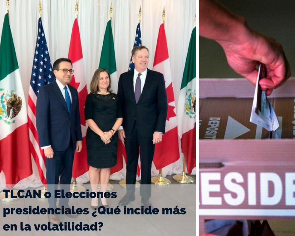 TLCAN o Elecciones presidenciales ¿Qué incide más en la volatilidad?, Edgar Arenas
