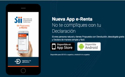 como presentar declaracion app e renta