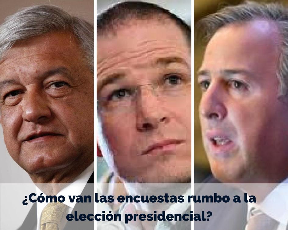 ¿Cómo van las encuestas rumbo a la elección presidencial?