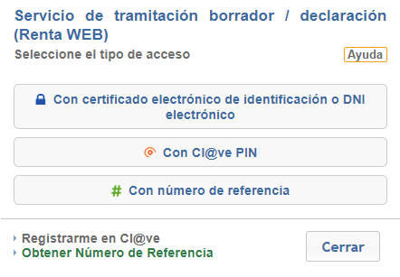 clave pin referencia certificado