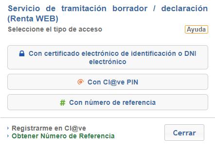 clave pin referencia certificado