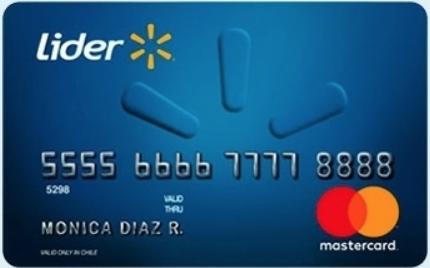 Tarjetas de crédito no bancarias: Lider