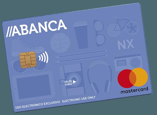 Tarjeta de débito NX de Abanca