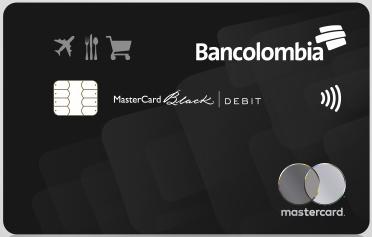 Tarjeta Débito MasterCard Black de Bancolombia