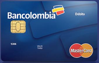 Tarjeta Débito Bancolombia MasterCard