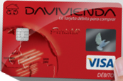 Tarjeta Débito Davivienda Visa