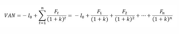 ¿Cómo se calcula el Valor Presente Neto?