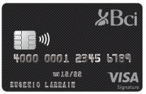 bci visa signature