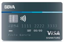 bbva visa signature