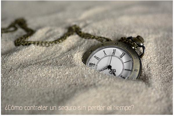 ¿Cómo contratar un seguro sin perder tiempo?