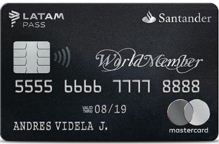 worldmember santander latam pass