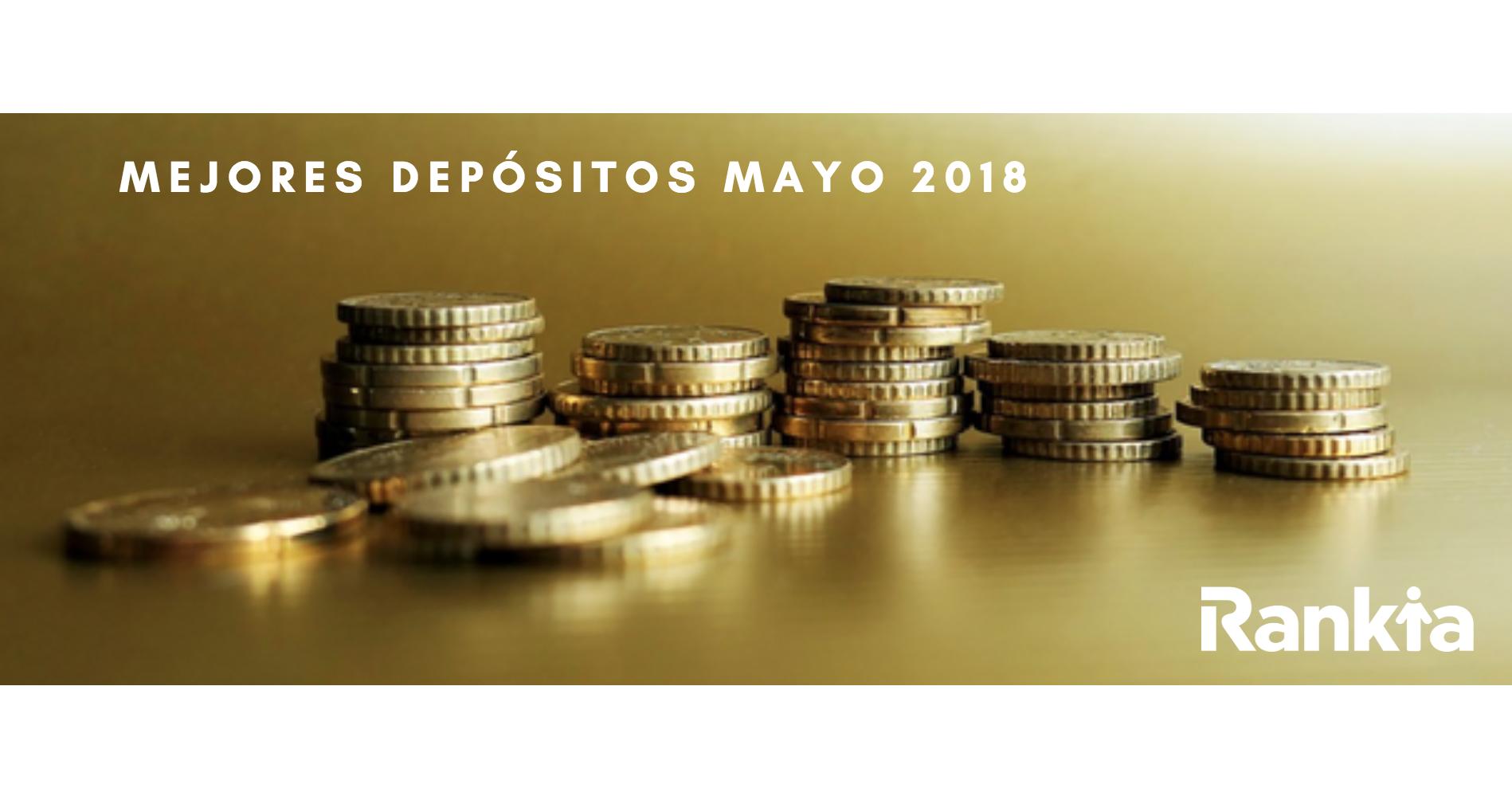 Mejores depósitos mayo 2018