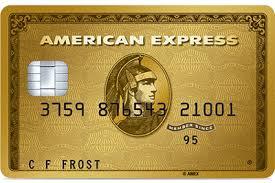 Tarjeta Gold American Express