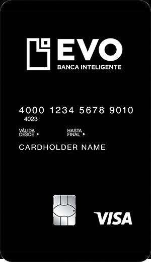 Tarjeta Inteligente de Débito de Evo Banco