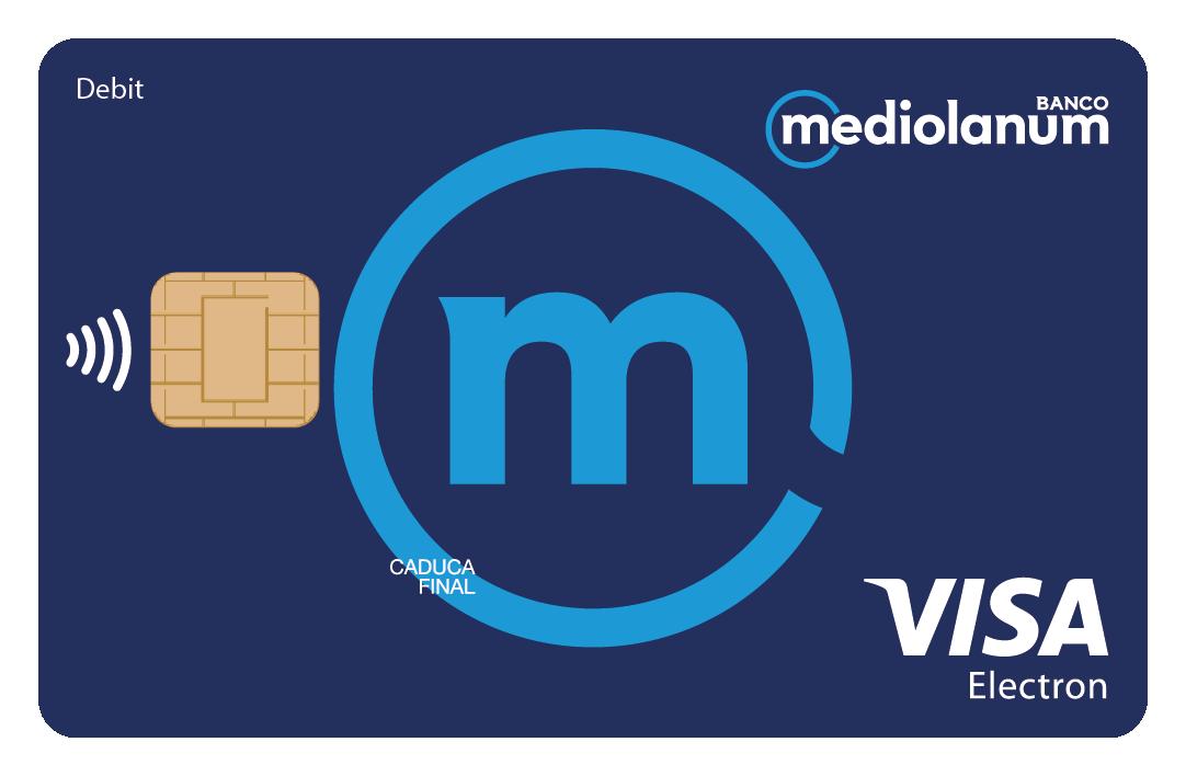 Visa Electrón de Banco Mediolanum