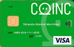 Tarjeta Coinc de crédito