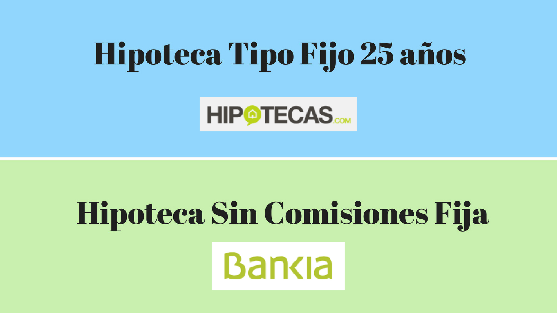Mejores hipotecas rankia for Hipoteca fija santander