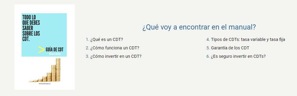 Guía CDT