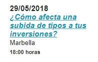 Conferencia en Marbella Amiral Rankia