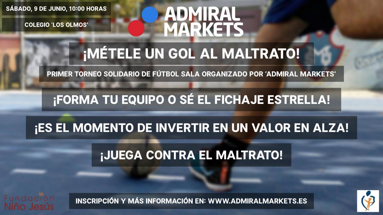 torneo solidario de Fútbol Sala Admiral Markets