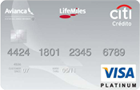 Tarjeta de Crédito Visa Platinum Avianca LifeMiles: Citibank