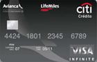 Tarjeta de Crédito Visa Infinite Avianca LifeMiles: Citibank
