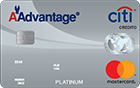 Tarjeta de Crédito MasterCard Platinum AAdvantage®: Citibank