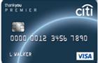 Tarjeta de Crédito ThankYou Premier Visa: Citibank