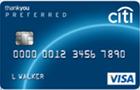 Tarjeta de Crédito ThankYou Preferred Visa: Citibank
