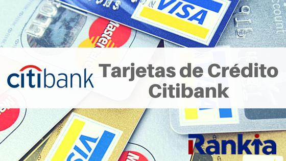 Tarjetas de Crédito Citibank