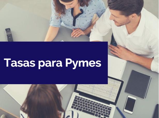Mejores tasas de crédito para pymes 2018