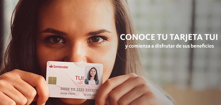 Tarjeta Universitaria Inteligente (TUI) Santander