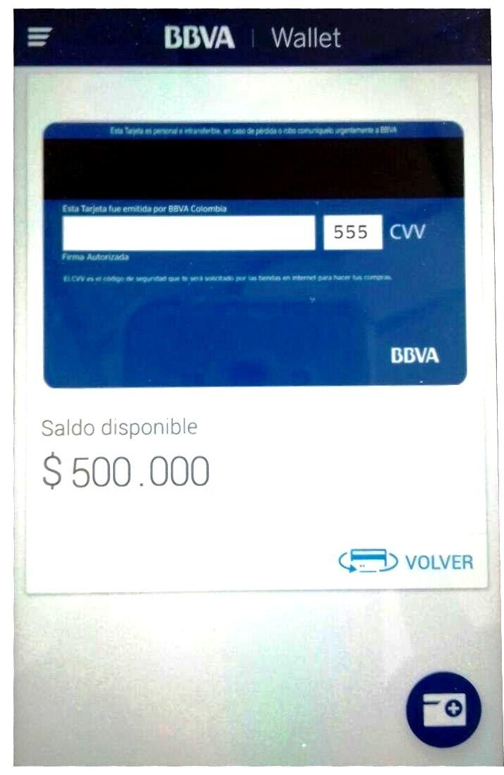 Compras online: Paso 6 Código CVV