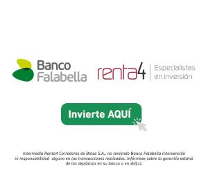 Banco Falabella y Renta 4: Especialistas en inversión