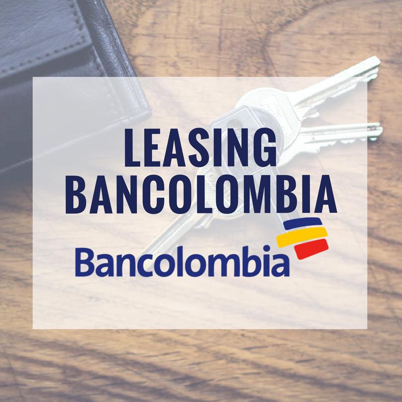 Leasing Bancolombia: vehículos, inmobiliario y otros activos financieros