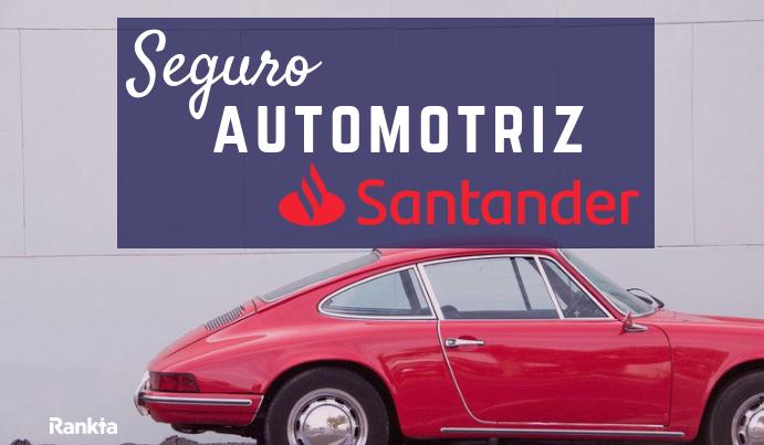 Seguro automotriz Santander