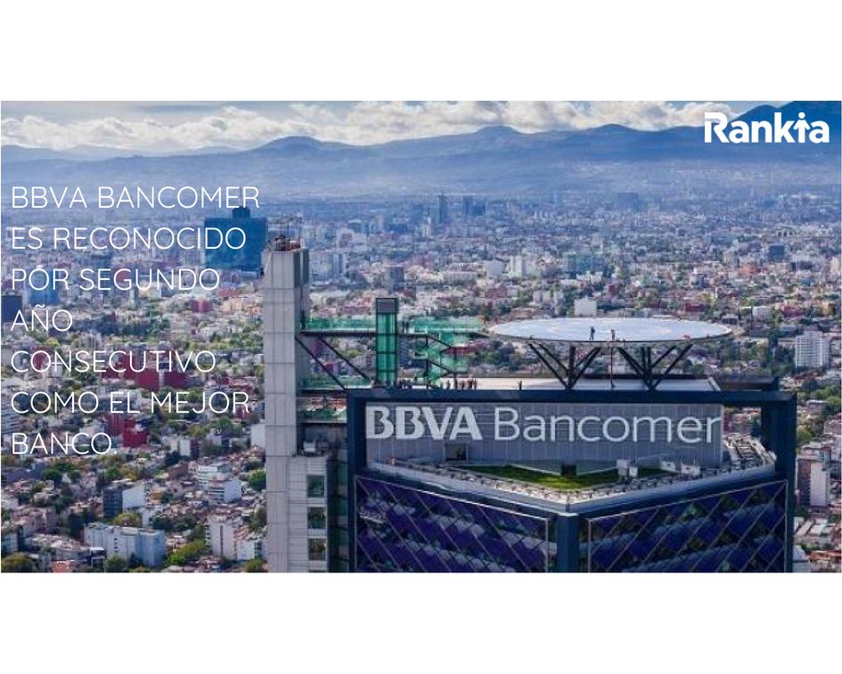 BBVA Bancomer es reconocido por segundo año consecutivo como el mejor banco