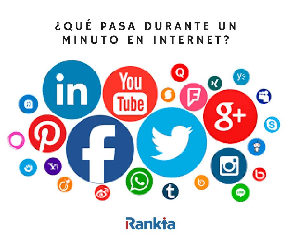 ¿Qué pasa durante un minuto en Internet?, Edgar Arenas